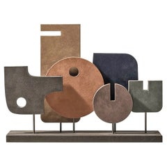 Contemporary Leather Sculpture, Tabou 5 by Stephane Parmentier for Giobagnara