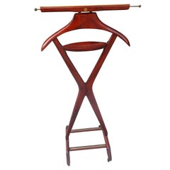 Mid-Century Modern Sculptural Clothing Valet by Fratelli Reguitti