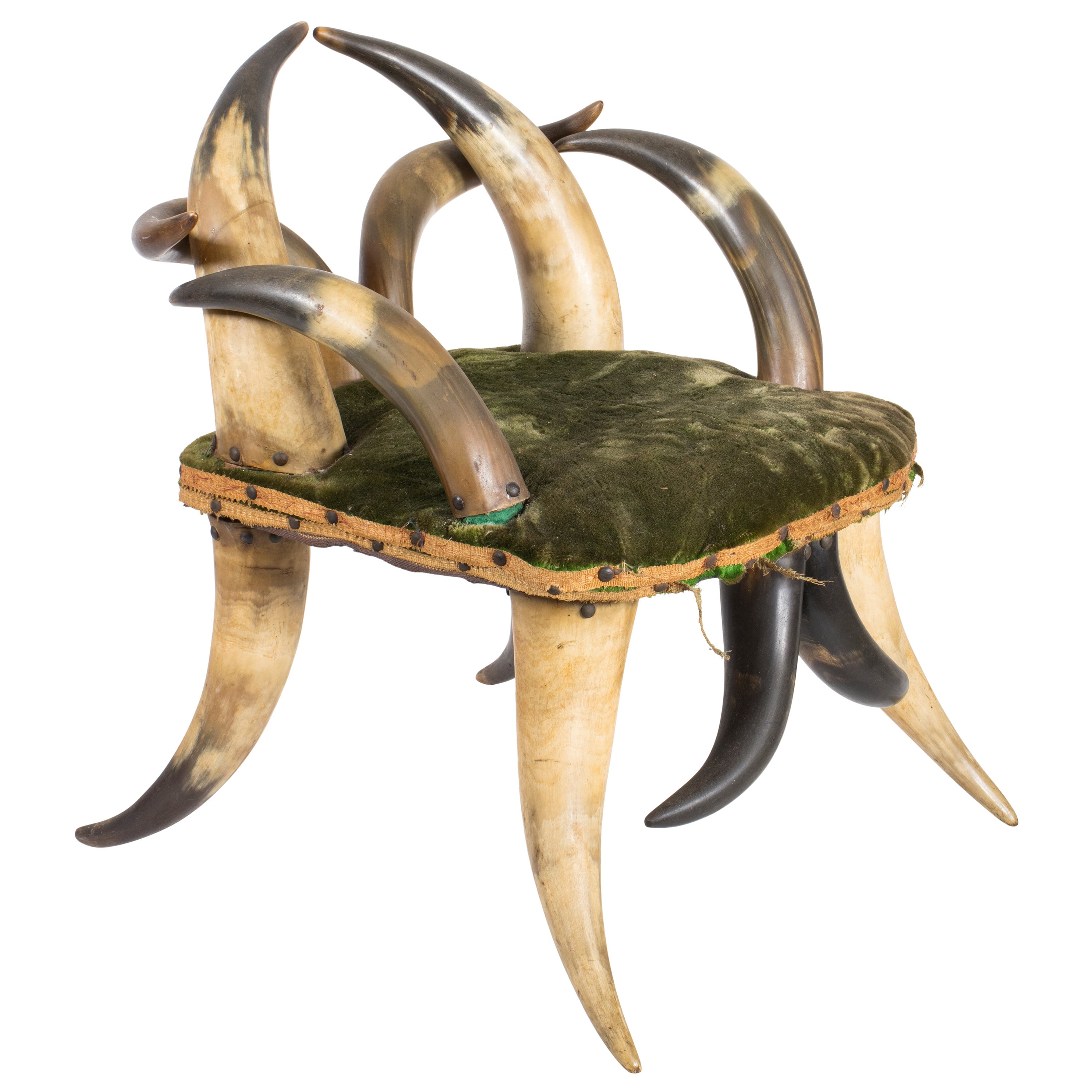 Vintage Horn Child's Chair