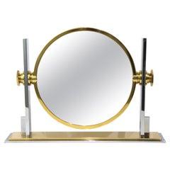 Karl Springer Dressing Table Mirror