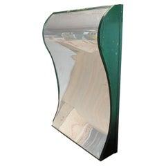 1950's Carnival Funhouse Distortion Green Mirror