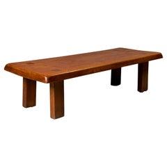 "Pierre Chapo, ""T 08"" Coffee Table, 1965"