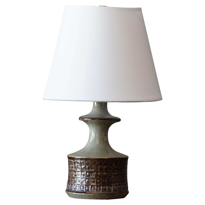 Danish, Table Lamp, Stoneware, Denmark, c. 1960s