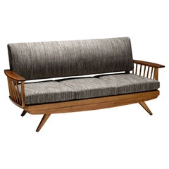 Modern Wooden Sofa, England circa 1960