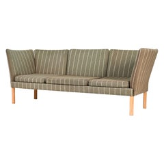 Erik Jorgensen Danish Mid-Century 3-Seater Sofa