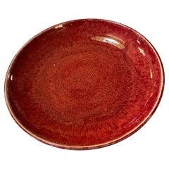 Large Vintage Ceramic Decorative Bowl by Harding Black