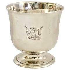 Rare George II Silver Tot Cup Circa 1736