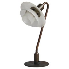 """PH Table Lamp """"Snowdrop"""" by Poul Henningsen Made at Louis Poulsen & Co. 1931"""