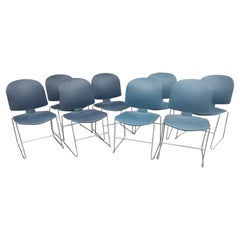 14 Steelcase Mid Century Modern Stacking Chairs