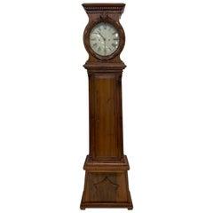 Antique Danish Grandfather Clock, 19th Century, Denmark