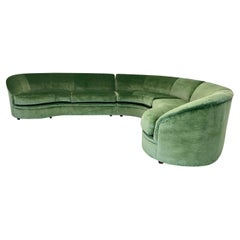 Vladimir Kagan Vintage Three Piece Sectional by Directional