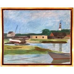 """Kennebunk, Maine"" by Myron Lechay"