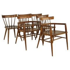 Paul McCobb Planner Group Mid Century Dining Chairs, Set of 6