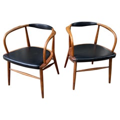 Lawrence Peabody Pair of Armchairs