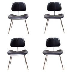 Eames for Herman Miller DCM Chairs in Black-Price is Per Chair