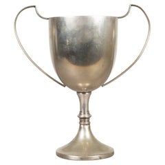 Antique Silver Plated English Cup Trophy c.1920