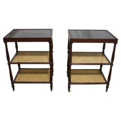 French Early 20th Century Pair of Side Tables