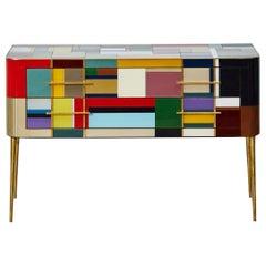 Mondrian Style Commode by Studio Glustin