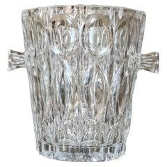 French Cut Crystal Champagne Bucket