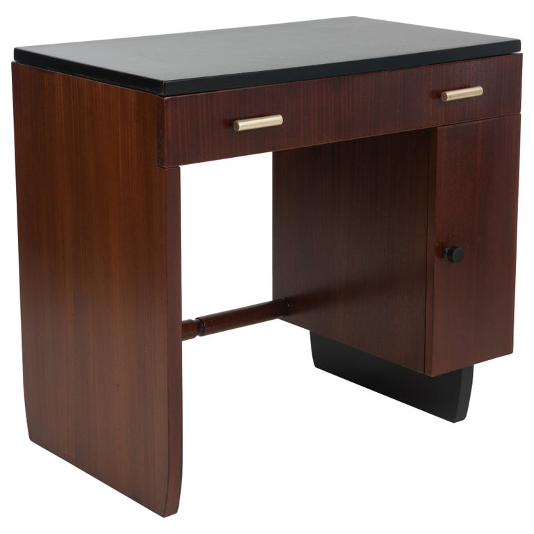 Widdicomb Dressing Table Desk Art Deco, 1930s For Sale