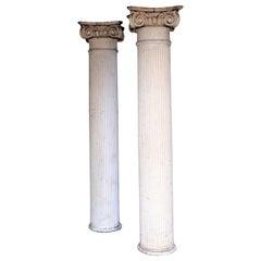 19th Century American Architectural Ionic Columns