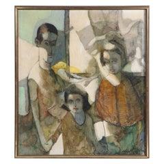 Oil on Canvass by Elmer P. Schwab