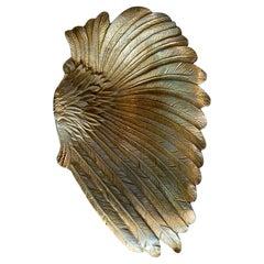 Metal Bowl or Decorative Wing