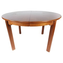Dining Table with Extension in Teak of Danish Design from the 1960s