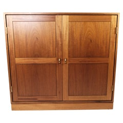 Cabinet in Light Mahogany of Danish Design by Søborg Furniture, 1960s