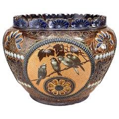 Arts and Crafts Royal Doulton Lambeth Pot