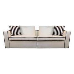 Alexander White Sofa