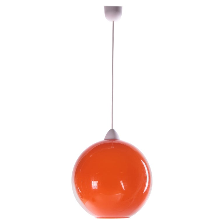 Hanging Lamp Model ui by Vistosi, Design by Alessandro Pianon 1960s For Sale