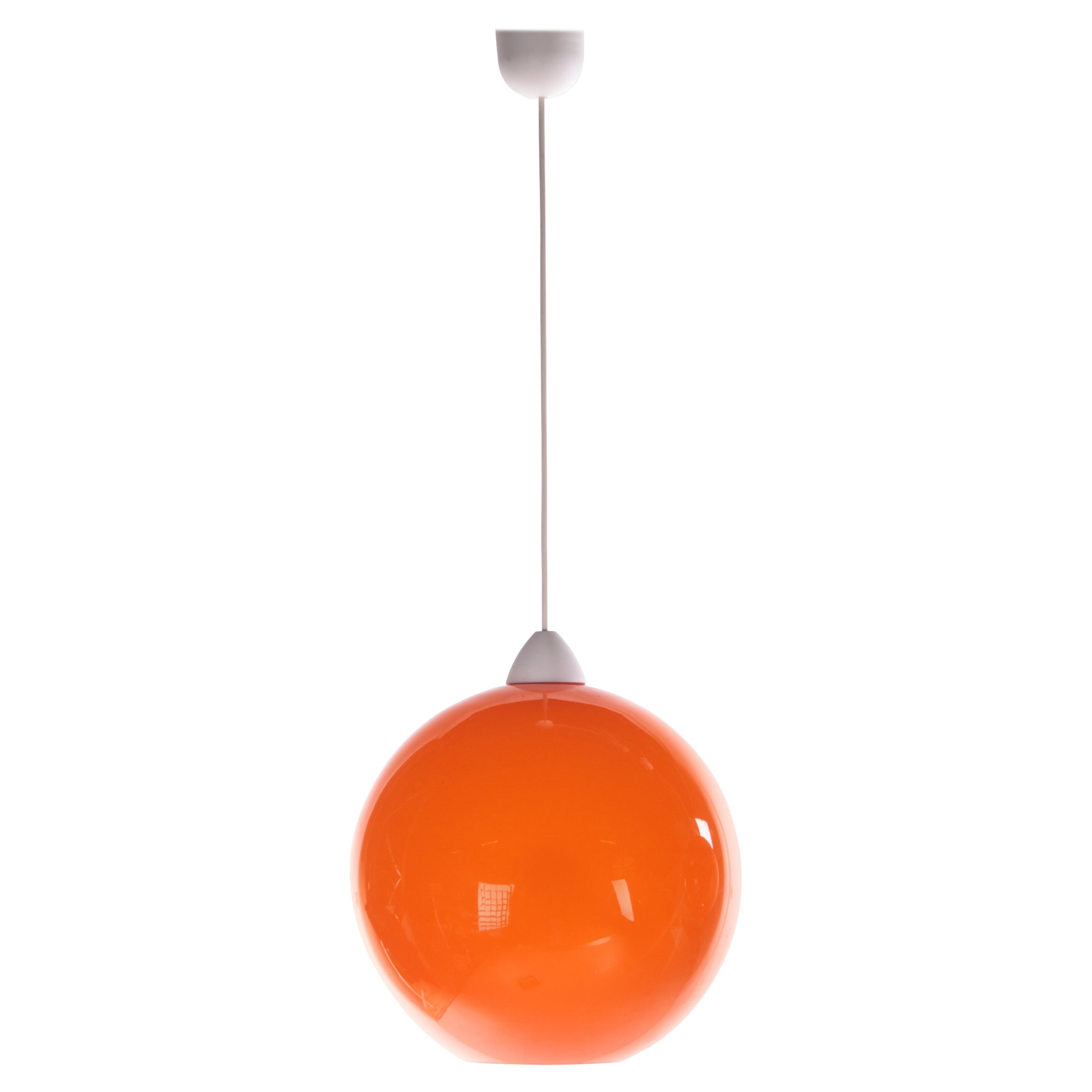 Hanging Lamp Model ui by Vistosi, Design by Alessandro Pianon, 1960s