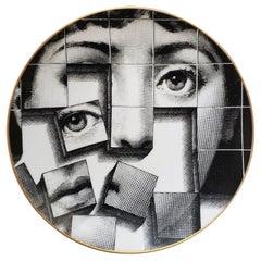 Piero Fornasetti Cubist Rosenthal Plate, Motiv 33, Themes & Variation