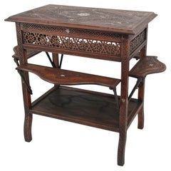 Moorish Levantine Tea Cart Table