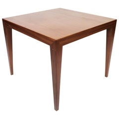 Side Table in Teak of Danish Design Manufactured by Haslev Furniture, 1960s