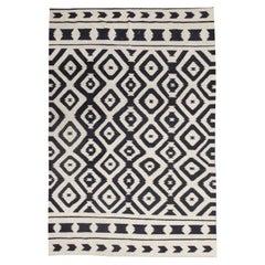 Aztec Flat Kilim Rug Modern Geometric Kilims Handmade Carpet