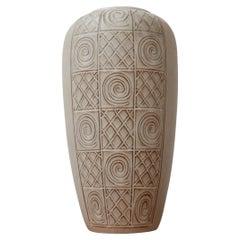 German Ceramic Mid-Century Decorative Vase