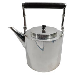 Danish Modern Sterling Silver Teapot