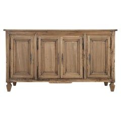 Antique French Walnut Buffet in Restored Structurally and Cosmetically Original