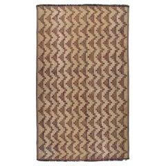 Vintage Mid-Century Moroccan Tuareg Mat Handwoven Rug