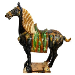 Chinese Monumental Tang Horse Statue