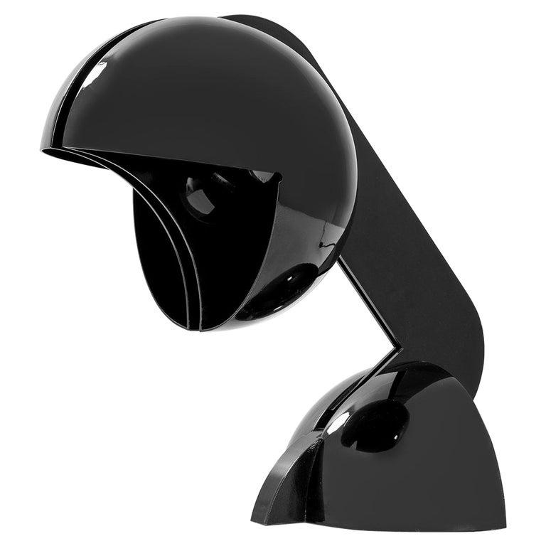 20th Century Gae Aulenti Table Lamp Mod. La Ruspa for Martinelli in Aluminium For Sale