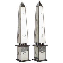 Obelisks from Grand Tour, Italy, 1880