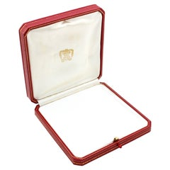 Vintage Cartier Jewellery, or Case Box, Made in France, Paris, 1970's