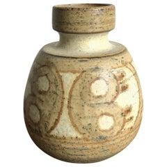 Noomi Backhausen for Søholm Stentøj Dornholm Scandinavian Ceramic Vase, 1960