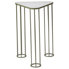 Muhly, Indoor/Outdoor Stainless Steel Side Table by Laun