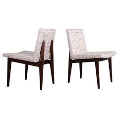 Ten Dunbar Bracket Back Dining Chairs by Edward Wormley