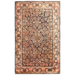Large Floral Antique Persian Sarouk Rug. 10 ft x 17 ft