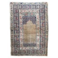 Beautiful Fine Antique Turkish Panderma Rug
